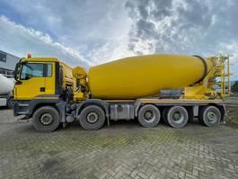 betonmixer vrachtwagen MAN TGS 49.440 10X4-6 BB 15m3 mixer EURO6 2016