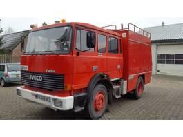 brandweerwagen vrachtwagen Iveco 165-240HP. 1986