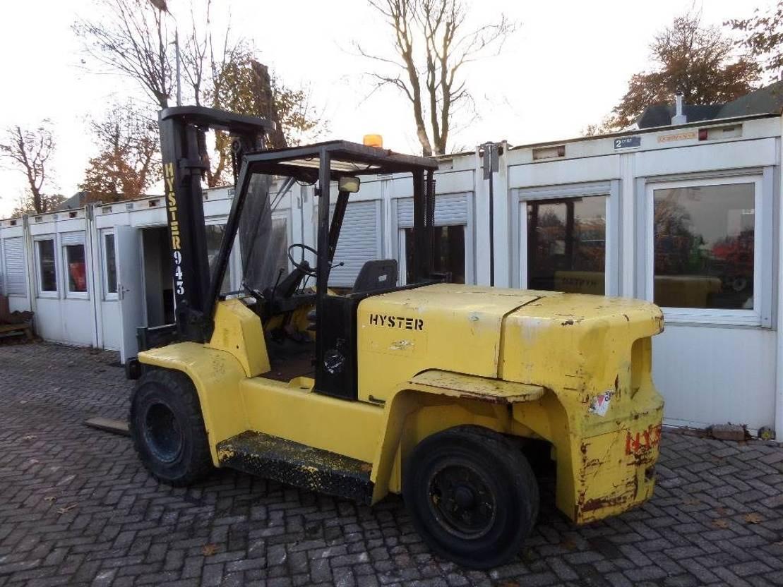 vorkheftruck Hyster H6.00xl 1989