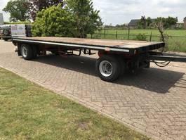 platte aanhanger vrachtwagen Pacton 1612 D 1984