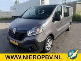 gesloten bestelwagen Renault TRAFIC l2h1 dubcab airco navi 2018