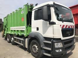 vuilniswagen vrachtwagen MAN TGS 26.320 6x2 **EURO 4-BELGIAN TRUCK** 2008