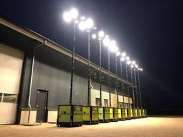 overige bouwmachine Hatz TCP Ecolite-P 9 meter lichtmast aggregaat light tower 2012