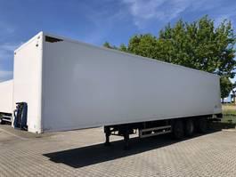 gesloten opbouw oplegger Pacton Gesloten Kast Box Koffer  + taillift/laadklep + stuuras/lenkachse   Heiwo 2006