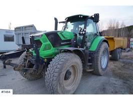 standaard tractor landbouw Deutz 6175 TTV Agrotron w / Loader, bucket & 2 sets of t 2017