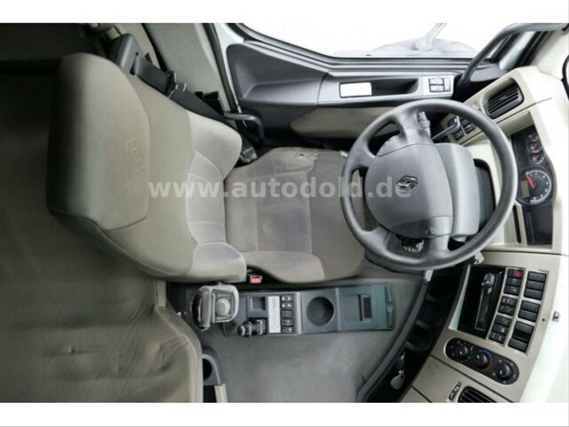 huifzeil vrachtwagen Renault Premium 430 DXi PritschePlane Edscha LBW Euro5 2010