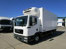 koelwagen bakwagen MAN TGL 8.180 BL Tiefkühlkoffer LAMBERET 5 m LBW 1 T 2013