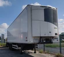 koel-vries oplegger Chereau THERMOKING SLX-200 - DIESEL/ELECTRIC - 2012 - LAADBRUG 2011