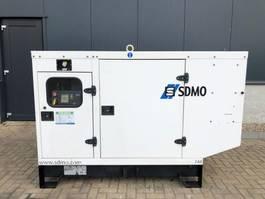 generator SDMO J66 John Deere Leroy Somer 60 kVA Supersilent generatorset 2009