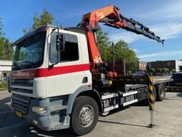 open laadbak vrachtwagen DAF CF 85.340 6X2 + PALFINGER PK42502 - 6x HYDRAULIC 5+6 FUNCTIE REMOTE CONTROL 2005