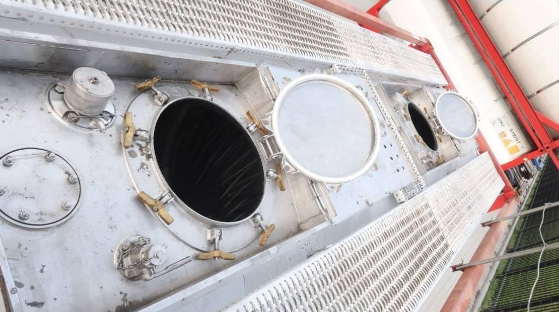 tankcontainer Welfit Oddy 23.750L TC, 2 comp.(12.360L/11.390L), L4BN, T11 1998