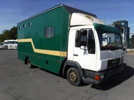 paardenvrachtwagen MAN 8.163 Paardenvrachtwagen 1997