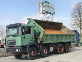 kipper vrachtwagen > 7.5 t MAN F2000 35.414 FK 8x4 1999