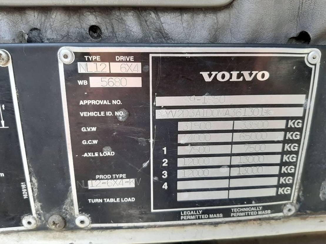 kraanwagen Volvo NL 12 + MOBILE CRANE 60T - GOOD WORKING CONDITION 1991