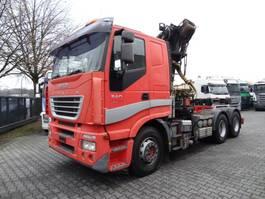 overige vrachtwagens Iveco STRALIS 540 6X4 KRAN LIV 24 T/M 2005