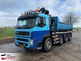 containersysteem vrachtwagen Terberg FM1850-T8x4 Euro 5 Haakarm met HMF Z-kraan remote control 2009