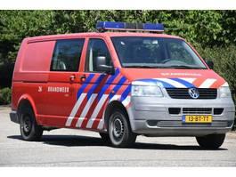 gesloten bestelwagen Volkswagen TRANSPORTER TDI 77 KW DC 1.0 DOKA/KLIMA!!FEUERWEHR!!158dkm!! 2005