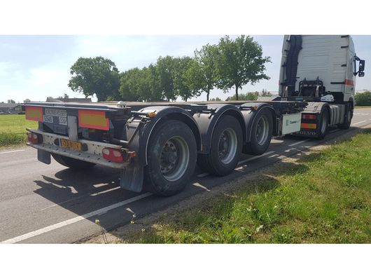 container chassis oplegger D-Tec FT-43-03V 2007