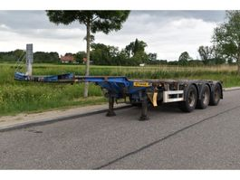 container chassis oplegger Pacton TXC343 2007