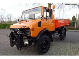 kipper vrachtwagen > 7.5 t Mercedes Benz Unimog U1250 1986