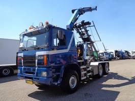 kipper vrachtwagen > 7.5 t Ginaf M 3333-S +6x6+ PTO + Palfinger Crane + Container Kipper 2000