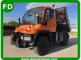 kipper vrachtwagen > 7.5 t Unimog Unimog U400, 6 Zylinder, 170 KW, Mega Ausstattung, Hydrostat, Zapfwelle ... 2002