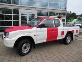 terreinwagen bedrijfswagen Mitsubishi L200 2.5TD Club Cab 4WD 4x4 1999