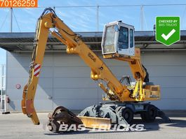 overslagkraan Liebherr A904 German machine - grapple - blade and outriggers 2008