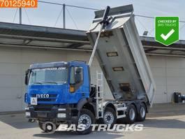kipper vrachtwagen > 7.5 t Iveco Trakker AD400T45 8X4 Manual Big-Axle SteelSuspension 18m3 Euro 4 2010