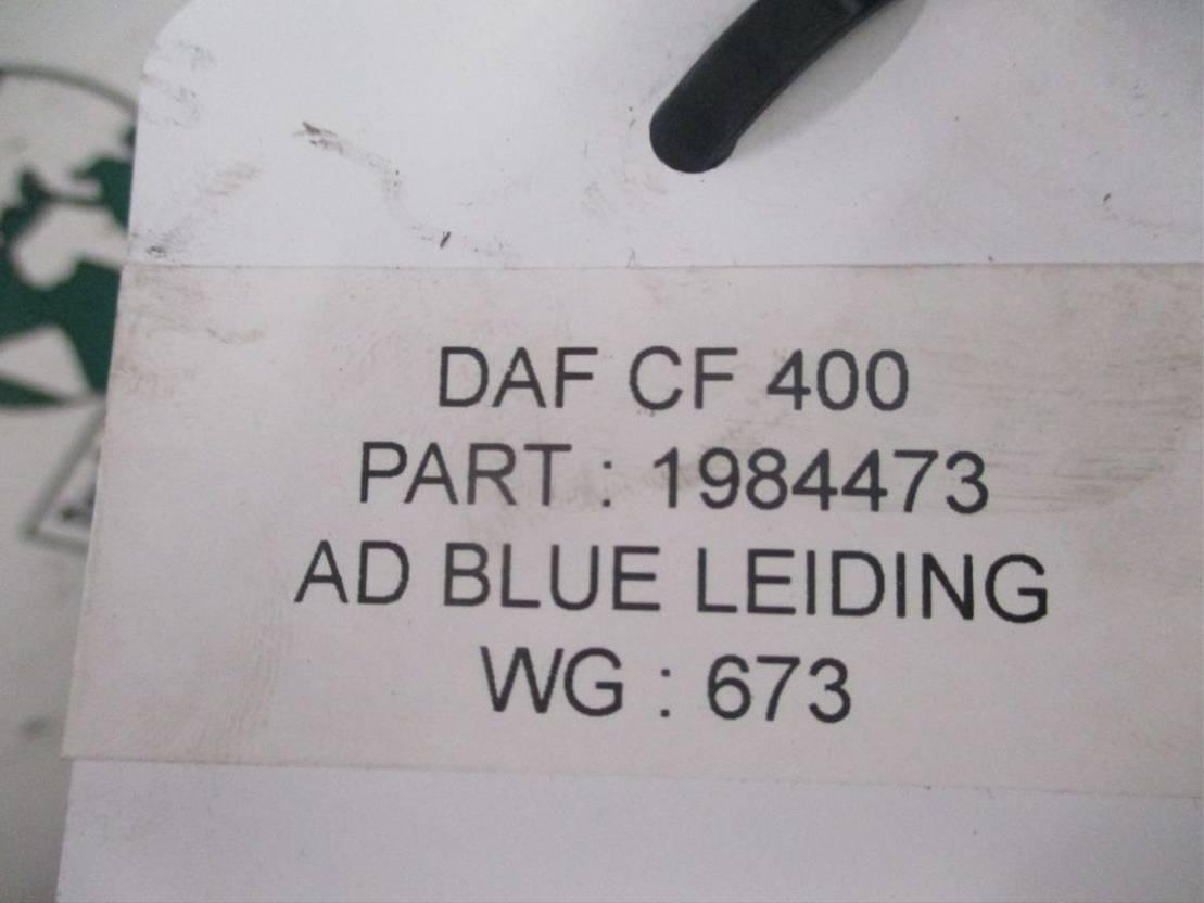 Brandstofleiding vrachtwagen onderdeel DAF 1984473 AD BLUE LEIDING CF 400 EURO 6