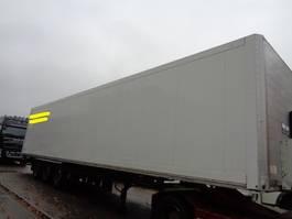 gesloten opbouw oplegger Schmitz Cargobull Oplegger 2005