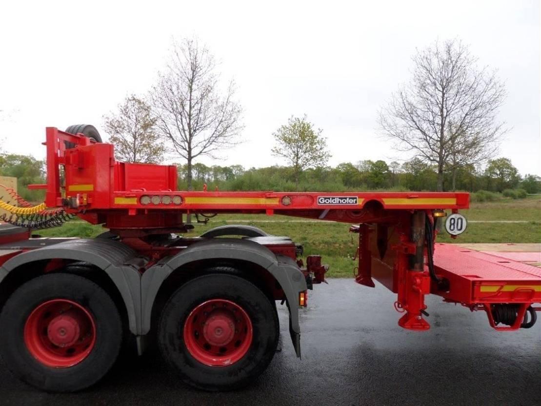 semi dieplader oplegger Goldhofer STZ-L6-62.80 2004