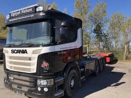 containersysteem vrachtwagen Scania G 490 LB8x4*4HNB 2017