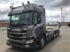 containersysteem vrachtwagen Scania P 500 B8x4*4NB 2018