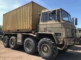 leger vrachtwagen Foden Foden 8x6 Hook Loader Truck container carrier Ex Military 1996