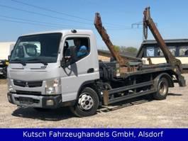 kipper bedrijfswagen Mitsubishi Canter 7 C 18 Tele - Absetzer - Meiller