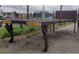 Platte bak vrachtwagen onderdeel Onbekend AFZET PLATEAU