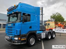 standaard trekker Scania R124 420 Steel/air - 10 tires - Manual - Retarder 2000