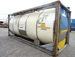 tankcontainer Van Hool SALE: 15 X 20FT, 23.000- 24.000L,  YOB:1995-1999, valid inspection 2000