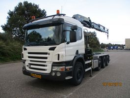 containersysteem vrachtwagen Scania P 380 8X2 EURO 4 2008