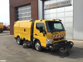Veegmachine vrachtwagen Mitsubishi Canter Euro 6 Brock wegdekreiniger/veegwagen 2016