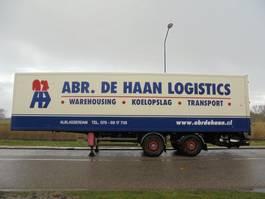 gesloten opbouw oplegger Samro 2-Axle Box / BPW / Discbrakes / NL Trailer / 11.5 M / APK 2007