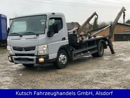 containersysteem vrachtwagen Mitsubishi Canter 7 C 18 Tele - Absetzer - Meiller