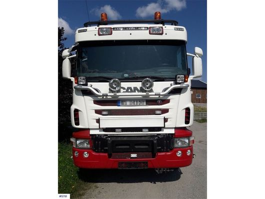 kipper vrachtwagen > 7.5 t Scania R620 6x4 snow rigged tipper truck 2011