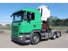 overige trekkers Scania G 410 LL - 6x2/4 - 94.113 Km - EURO 6 + EPSILON Z 130 QD KRAAN - TOP TOE... 2016