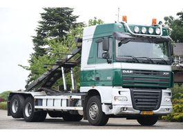 containersysteem vrachtwagen DAF FAS XF105/510 !!MANUAL!!FULL STEEL!!LAMES!!10 WHEELS!! 2008