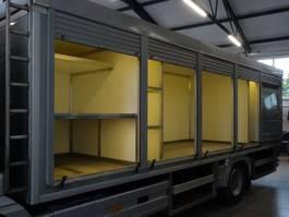 koelwagen vrachtwagen Mercedes Benz Atego Sale-Store truck + cooling 55.000 km 2011