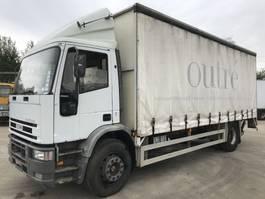 huifzeil vrachtwagen Iveco 170E23 **18TONS-FULL STEEL-MANUAL PUMP** 1996