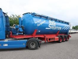 silo oplegger Feldbinder KIP 52.3 mit Hydraulik + Kompressor 2008