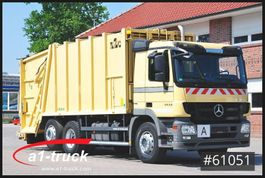 vuilniswagen vrachtwagen Mercedes-Benz Actros 2632 L,  Haller X2C + Zoeller  Delta 2301, TÜV NEU 2012